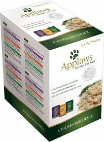 Applaws Natural Cat Food Multipack CHICKEN Karma z kurczakiem dla kota saszetki 12x70g