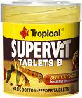 Tropical Supervit Tablets B Pokarm dla ryb 200 tab.