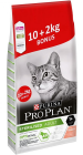 Pro Plan Cat Sterilised Optirenal Karma z łososiem dla kota 10kg+2kg GRATIS [Data ważności: 12.2020]